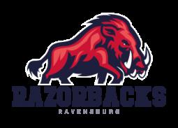 Konstanz Pirates - American Football - Logo Ravensburg Razorbacks