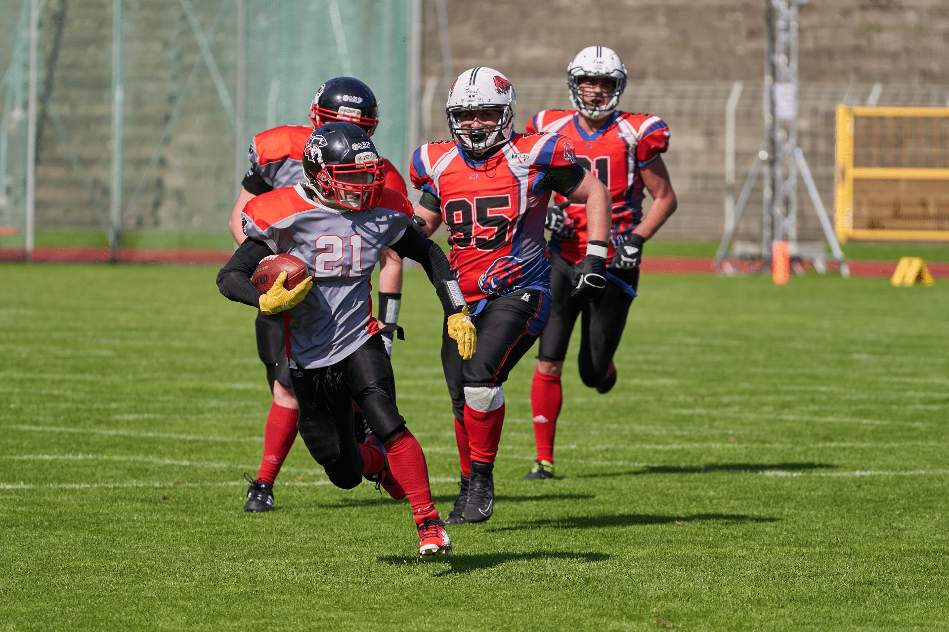 Konstanz Pirates - American Football - Runningback_21