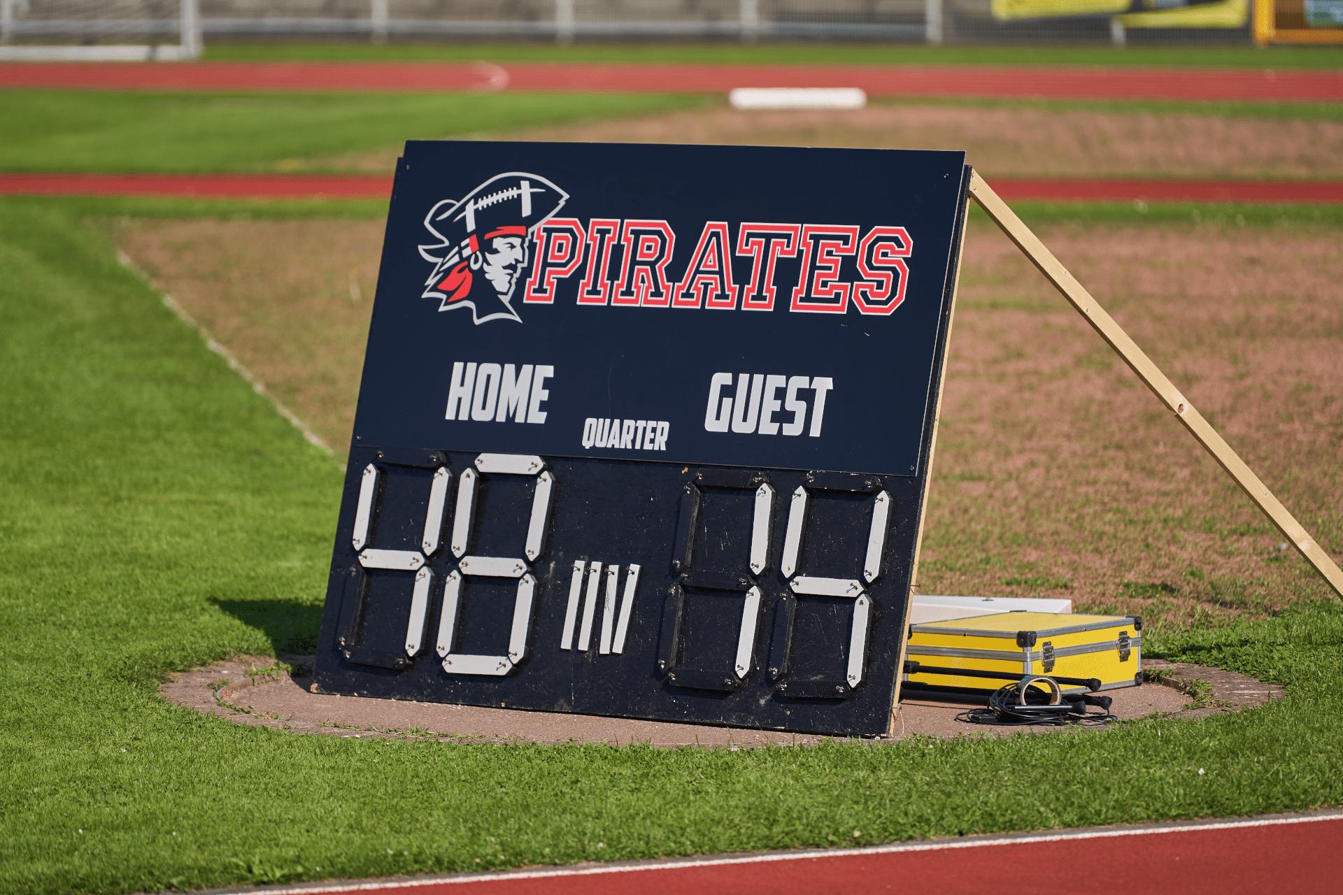 Konstanz Pirates - American Football - Endergebnis