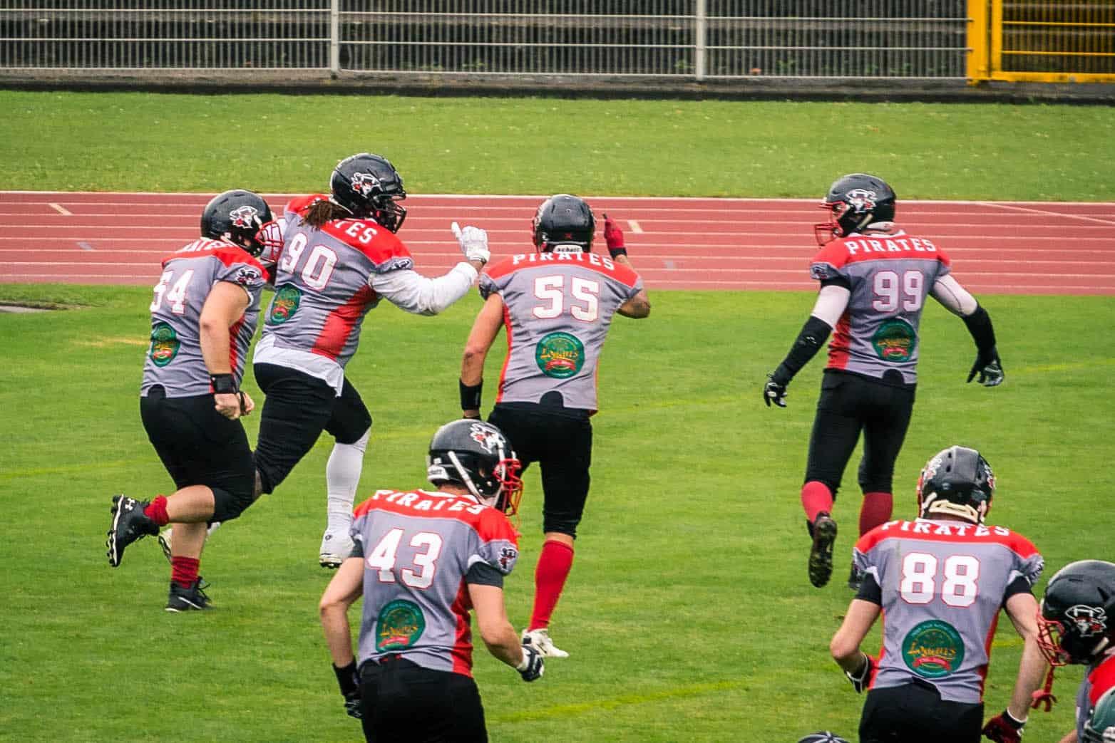 Konstanz Pirates - American Football - Miners Fumble